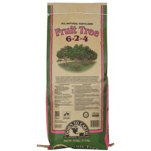 Down To Earth Fruit Tree Natural Fertilizer 6-2-4 1ea/25 lb