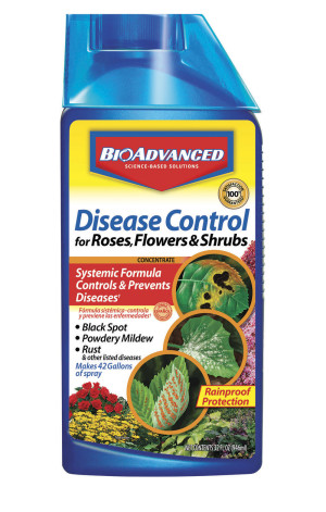 BioAdvanced Disease Control for Roses, Flowers & Shrubs Concentrate 8ea/32 fl oz