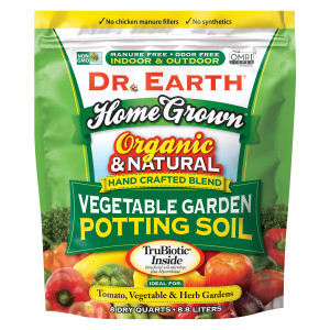Dr. Earth Home Grown Premium Vegetable & Garden Planting Mix 4ea/8 qt