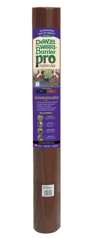 DeWitt Weed-Barrier Pro Landscape Fabric Brown 16ea/3Ftx50 ft
