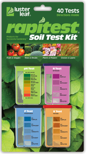 Luster Leaf Rapitest Soil Test Kit Assorted 6ea/40 pk