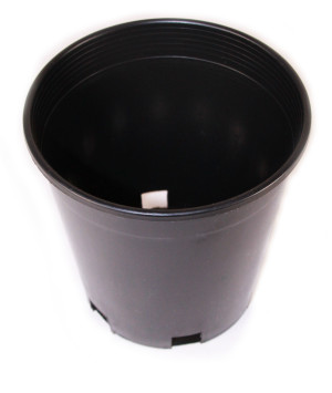 Calipot Grower Pot Black 1ea/1 gal