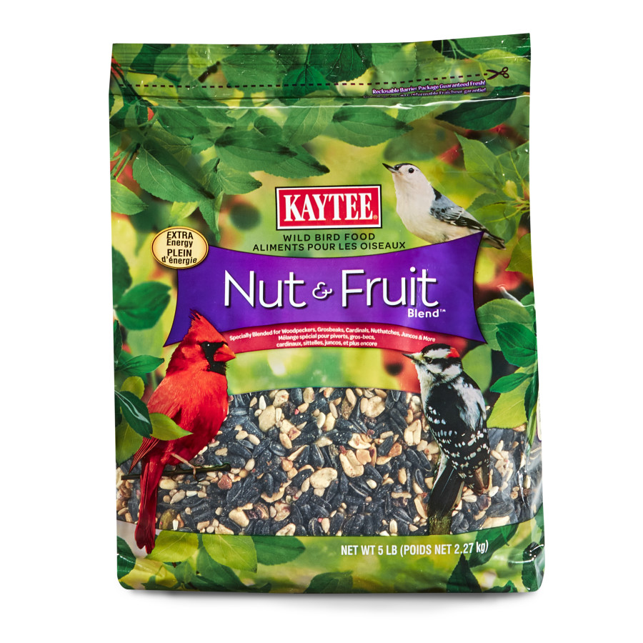 Kaytee Nut & Fruit Blend Food 3ea/5 lb