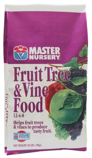 Master Nursery Fruit Tree & Vine Food 12-4-8