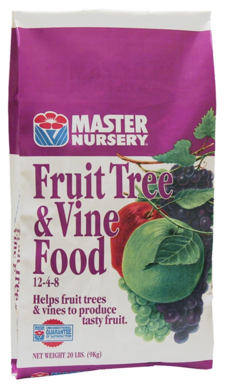 Master Nursery Fruit Tree & Vine Food 12-4-8
