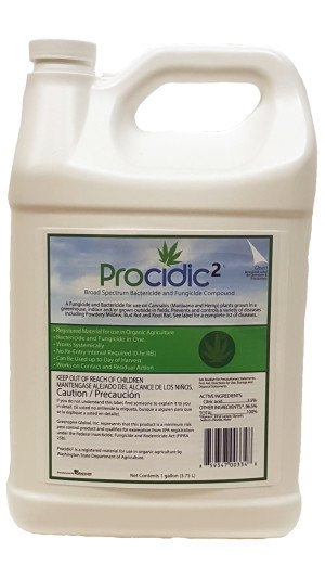 Procidic 2 Fungicide and Bactericide Compound Medical Cert Concentrate 4ea/128 fl oz