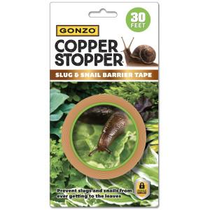 Gonzo Copper Stopper Slug Snail Copper Tape 12ea/30 ft