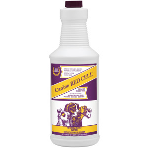 Horse Health Canine Red Cell, Vitamin-iron-mineral supplement for dogs 6ea/32 oz