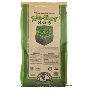 Down To Earth Bio-Turf Natural Fertilizer 8-3-5 OMRI 1ea/50 lb