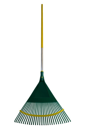 """Flexrake """"Smart Rake"""" with 24in ActionPoly Head Wood Handle 12ea/48 in"""