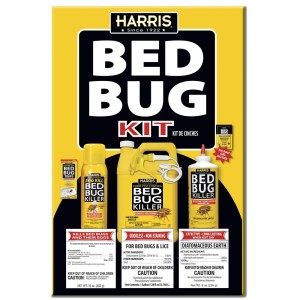Harris Bed Bug Kit Killer & Traps Large Value Pack 4ea