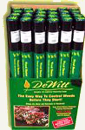 DeWitt 6-Year Weed-Barrier Landscape Fabric Black 1ea/3Ftx300 ft