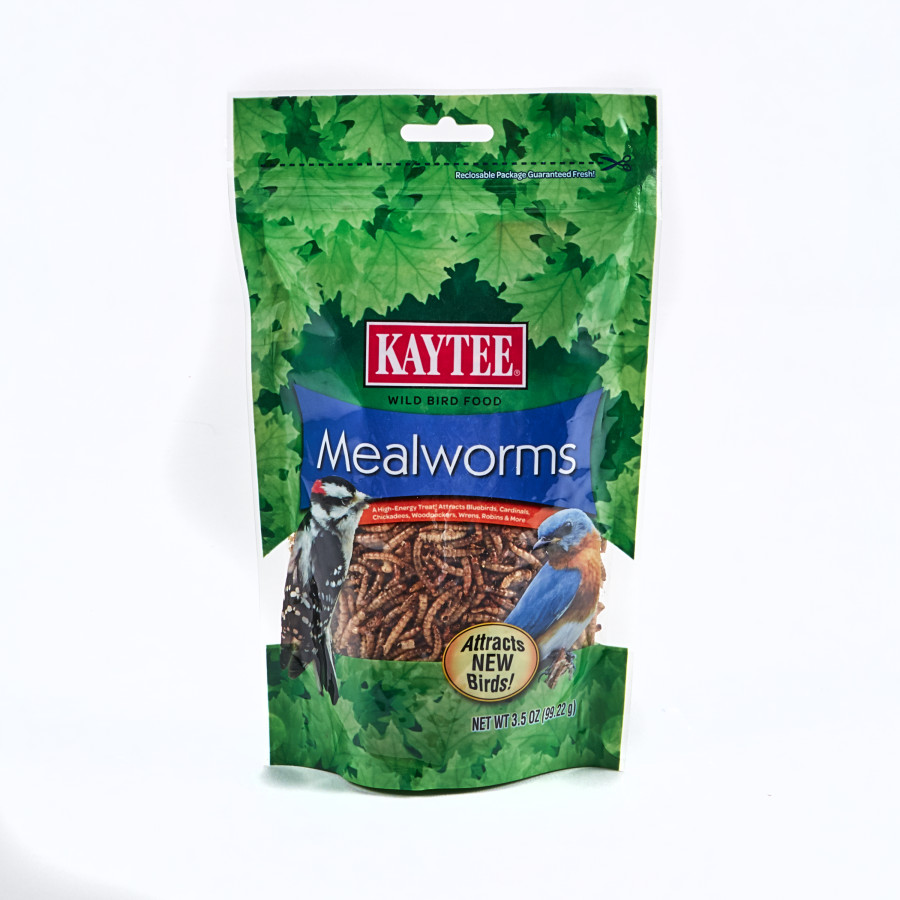 Kaytee Mealworm Food Pouch 6ea/3.5 oz