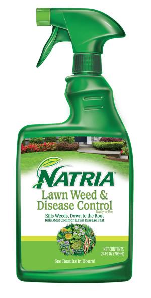 BioAdvanced Natria Lawn Weed & Disease Control Ready to Use 4ea/24 fl oz