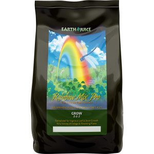 Earth Juice Rainbow Mix PRO Grow 8-6-3 Natural 9ea/5 lb
