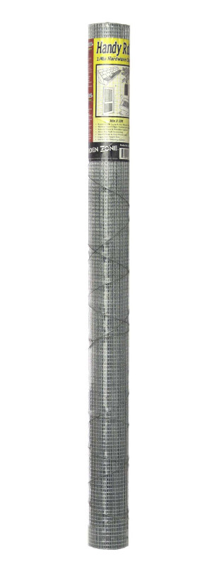 Garden Zone 23-gauge Galvanized Hardware Cloth Silver 9ea/36Inx10-1/4 ft