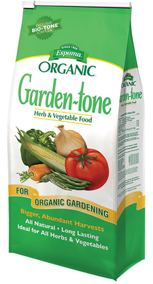 Espoma Organic Garden-tone Herb & Vegetable Food 3-4-4