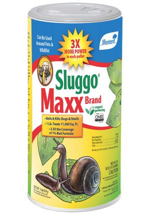 Monterey Sluggo Maxx Slug & Snail Killer Bait 6ea/1 lb