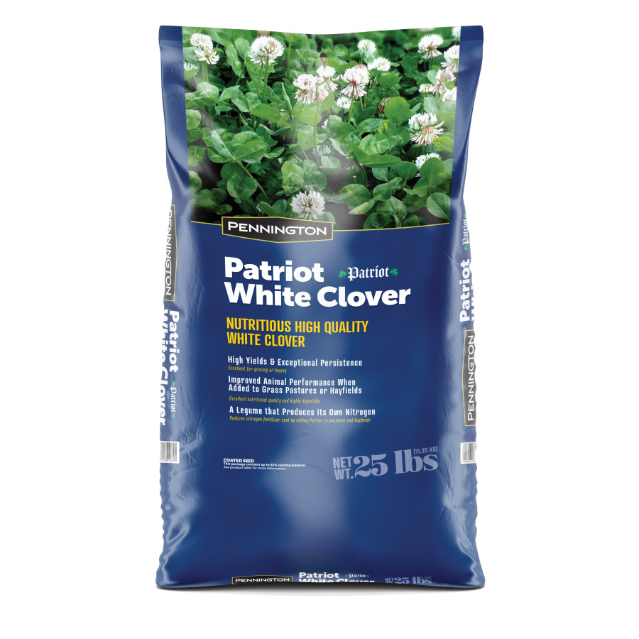 Pennington Patriot White Clover 1ea/25 lb