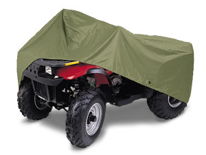 DMC Gulfstream ATV Cover Olive 4ea/Fits 3 Or 4 Wheel Atv'S Up To 86.5 inl X 47.6 inw X 50 inh