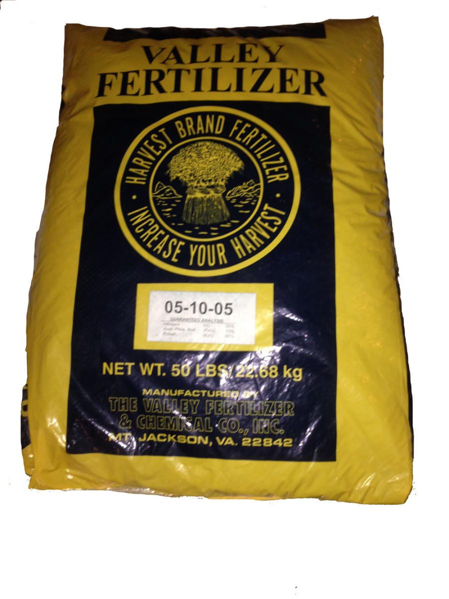 Valley Fertilizer 5-10-5 1ea/50 lb