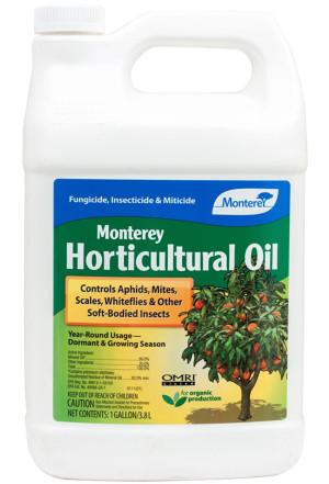Monterey Horticultural Oil Concentrate Organic 4ea/128 fl oz