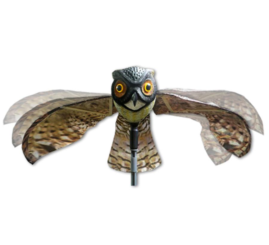 Bird-X Prowler Owl Predator Decoy Brown 6ea/6 In (D) X 44 In (W) X 23 In (H)