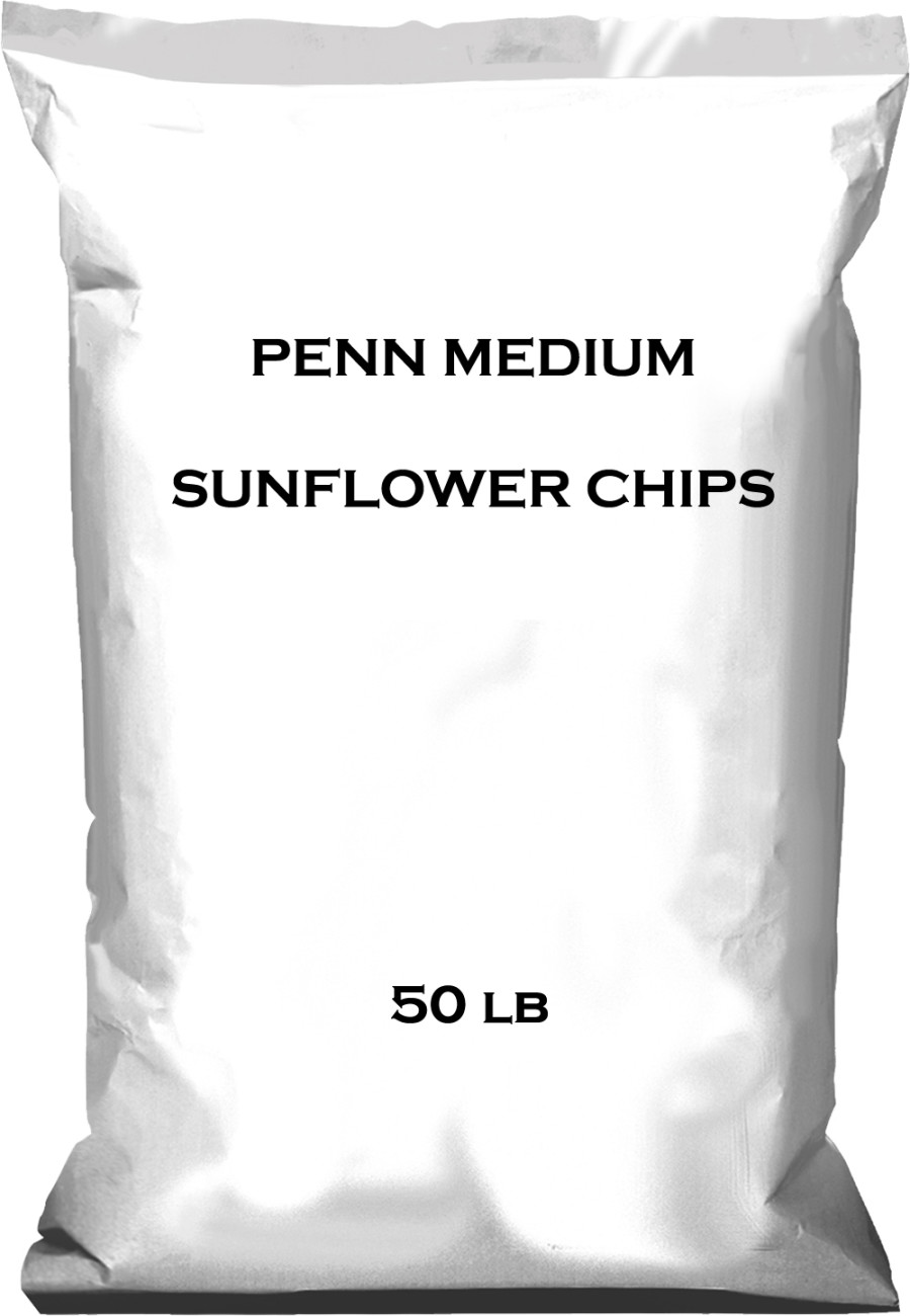Pennington Medium Sunflower Chips Bird Food 1ea/50 lb