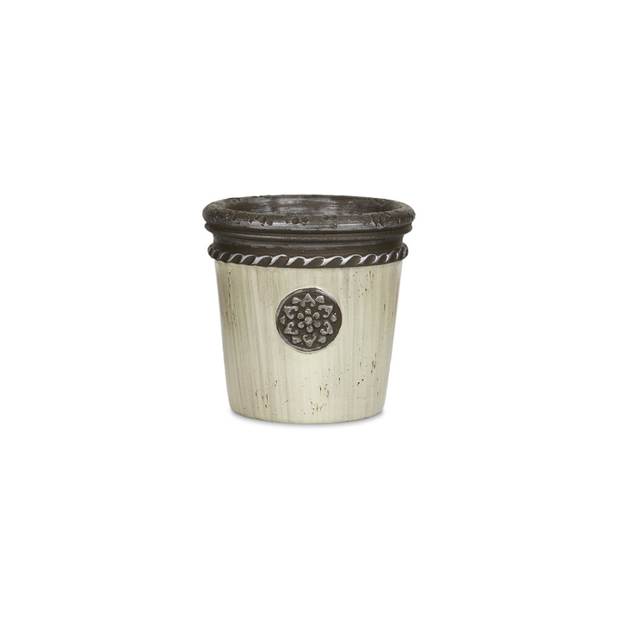 Pennington Medallion Planter Damascus 6ea/5 in
