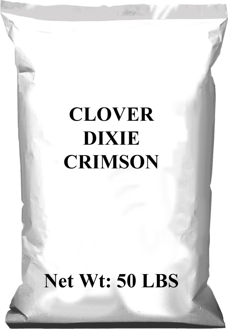 Pennington Clover Dixie Crimson 1ea/50 lb