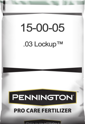 Pennington Pro Care Fertilizer 15-0-5 .03 LOCKUP 1ea/50 lb