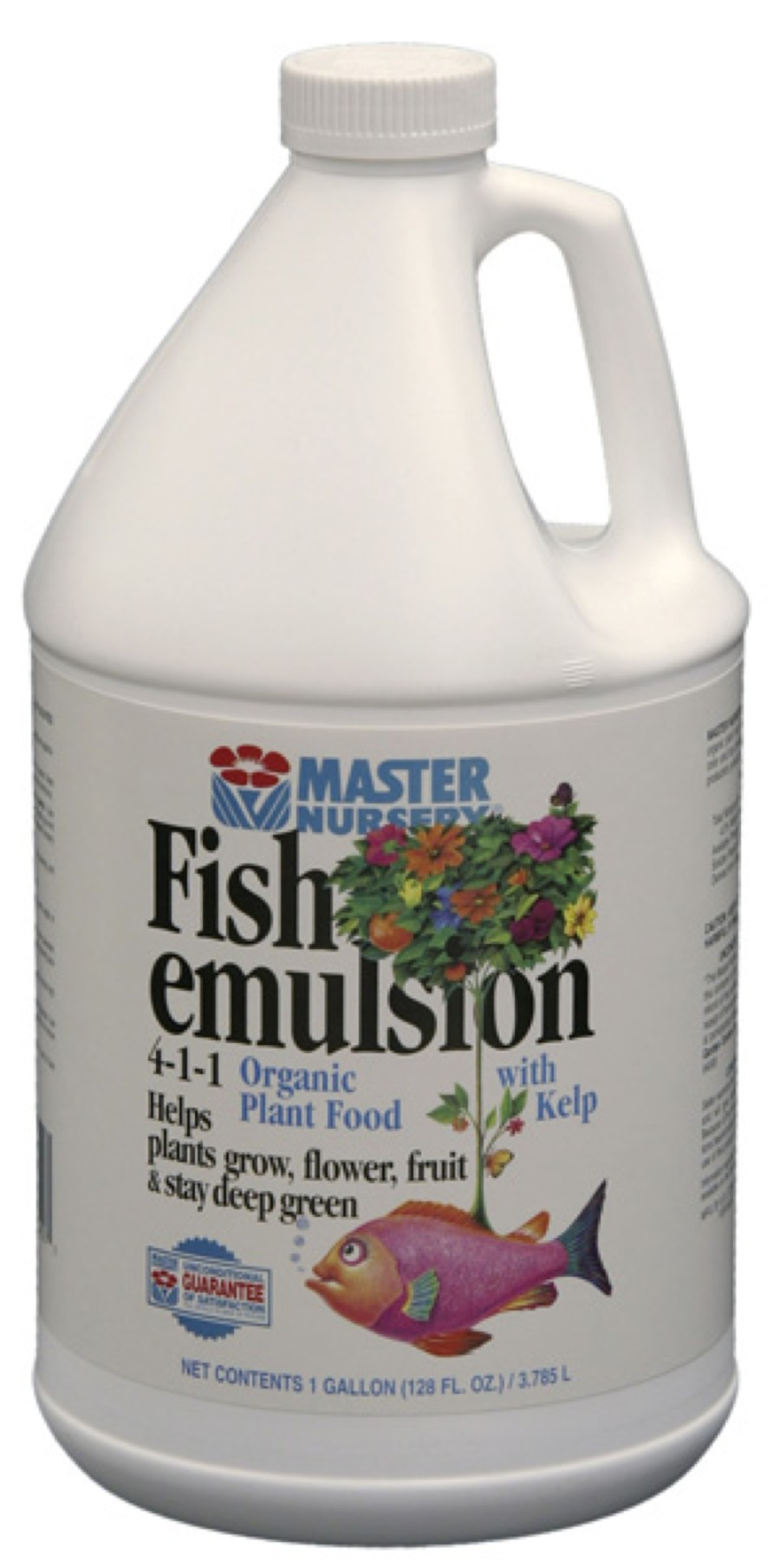 Master Nursery Fish Emulsion 4-1-1 Organic Plant Food Concentrate