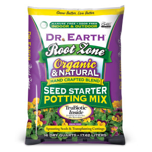 Dr. Earth Root Zone Seed Starter Potting Mix 1ea/16 qt