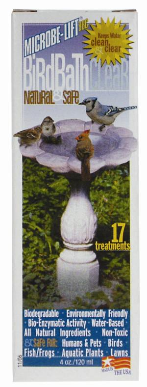 Ecological Laboratories Microbe-Lift Birdbath Clear All Natural 12ea/4 oz