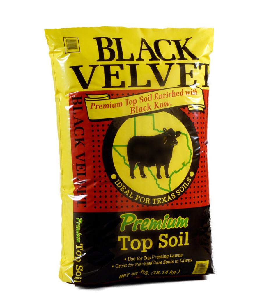 Black Kow Black Velvet Premium Top Soil 60ea/45 lb