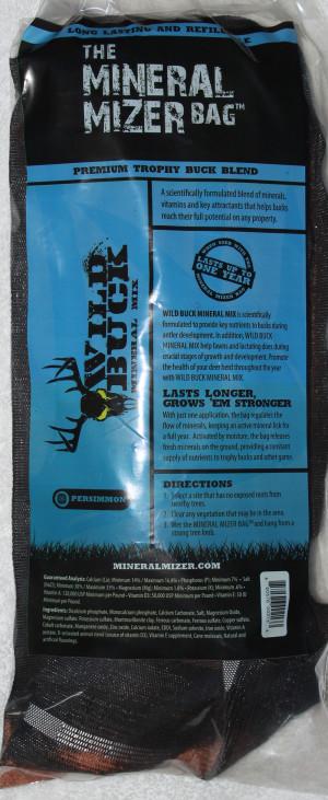 Mineral Mizer Bag Wild Buck Persimmon Minerals Blend 10ea/6 lb