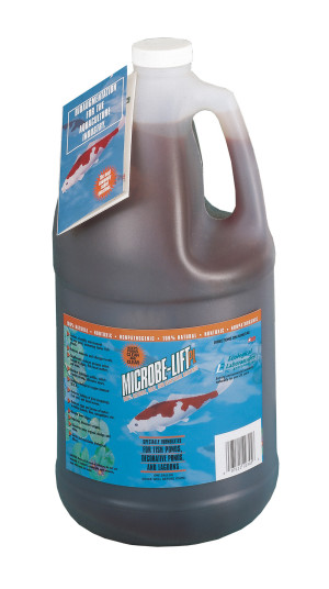 Ecological Laboratories Microbe-Lift PL Ponds & Lagoons Water Clarifier 4ea/1 gal