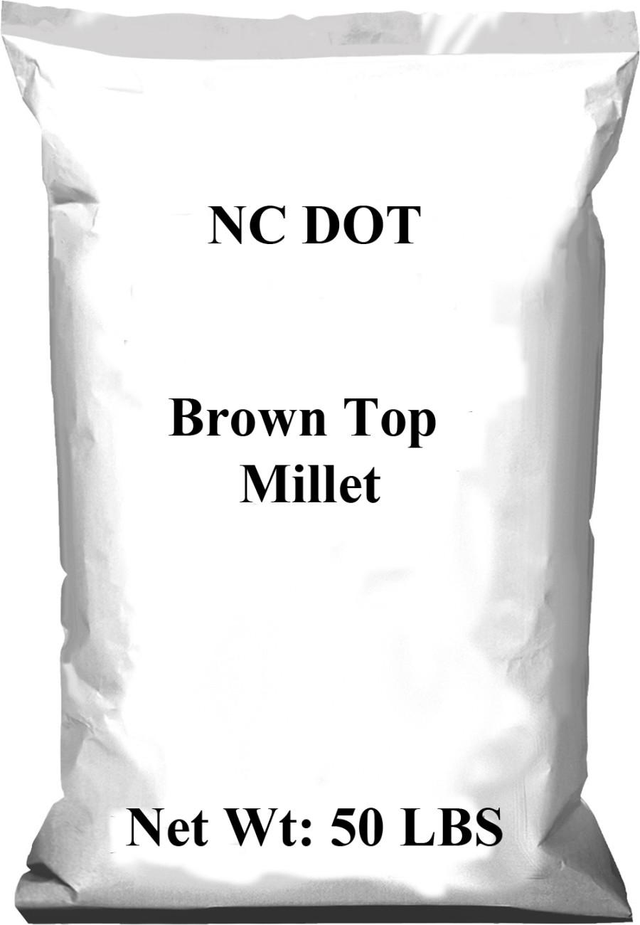 Pennington NC DOT Brown Top Millet Seed 1ea/50 lb