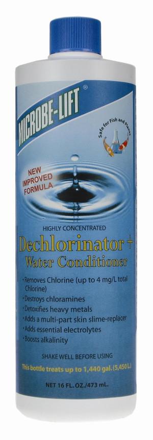 Ecological Laboratories Microbe-Lift Dechlorinator Water Conditioner 12ea/16 oz