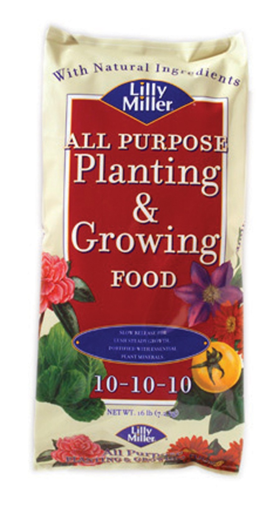 Lilly Miller All Purpose Planting & Growing Fertilizer 10-10-10 1ea/16 lb