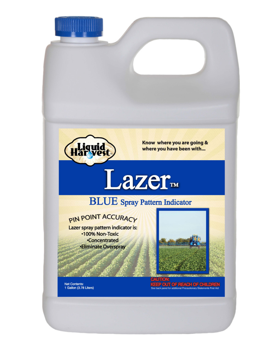 Sanco Liquid Harvest Lazer™ Blue Spray Pattern Indicator Marker