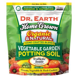 Dr. Earth Home Grown Vegetable Garden Potting Soil 12ea/4 qt