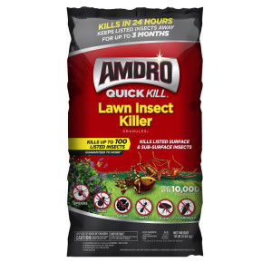 Amdro Quick Kill Lawn Insect Killer Granules II Pallet 1ea/10 lb
