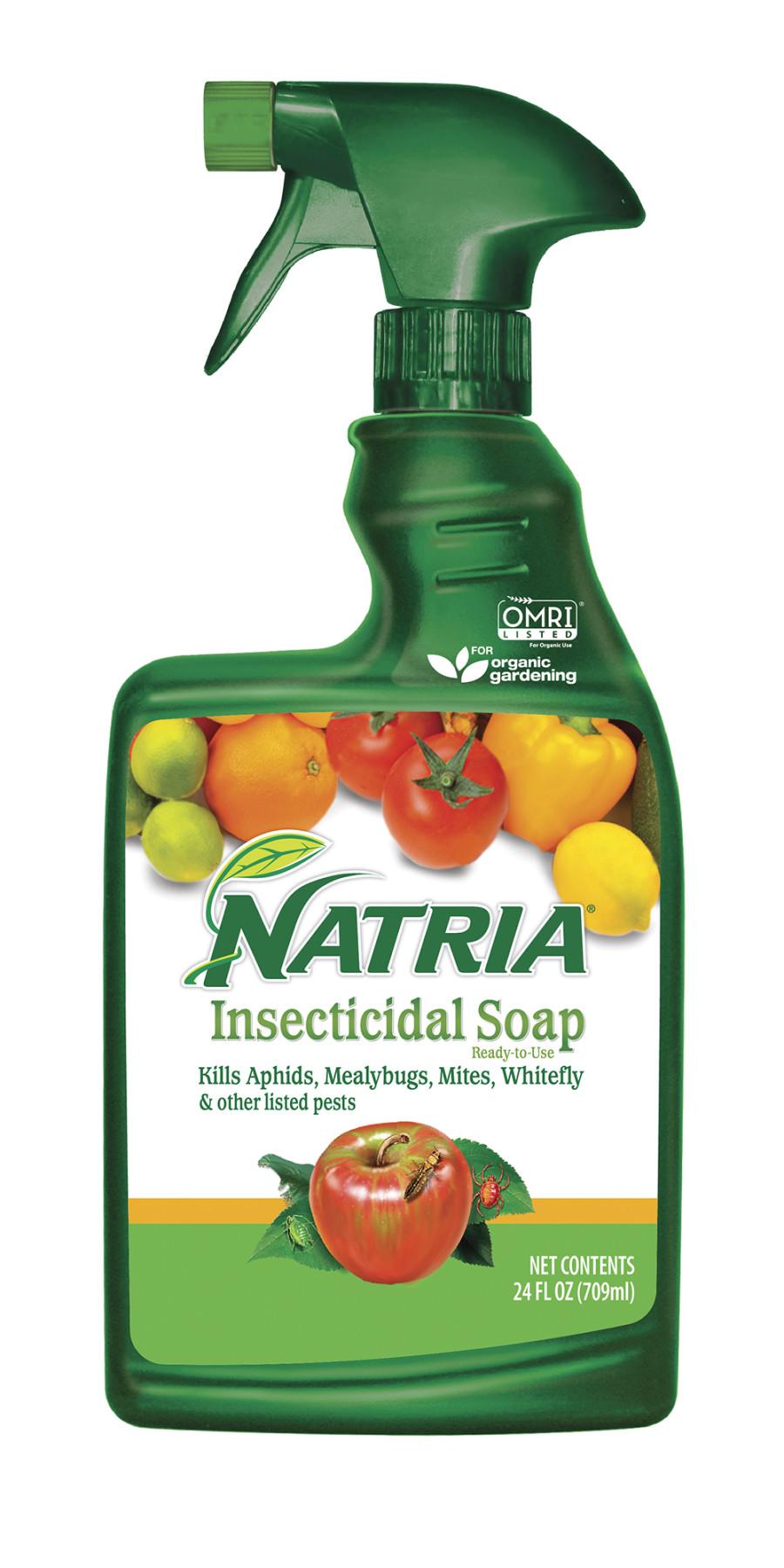 BioAdvanced Natria Insecticidal Soap Ready to Use Organic 8ea/24 fl oz