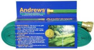 Andrews Two Tube Sprinkler Hose Green 6ea/100 ft