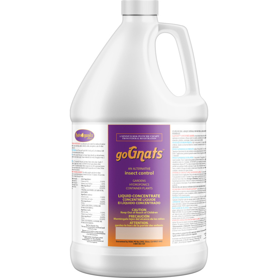 Earth Juice goGnats Liquid Poison-Free Insect Control Concentrate 4ea/1 gal