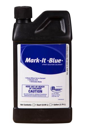 Monterey Mark-It Blue Spray Solution Colorant Blue 12ea/32 oz