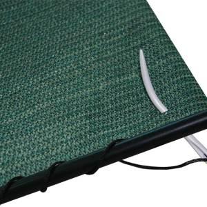 Coolaroo Lacing Cord and Needle Black 10ea/80 ft