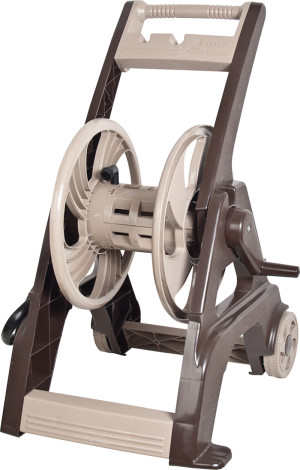 Ames Hose Cart Poly Tan, Brown 3ea/175 ft