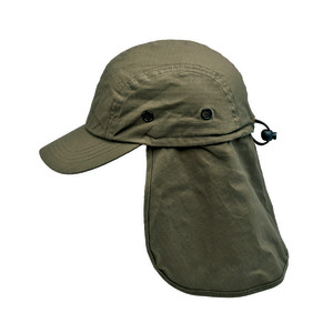 Goldcoast Sunwear Legion Flap Hat Dark Brown 6ea/Adjustable